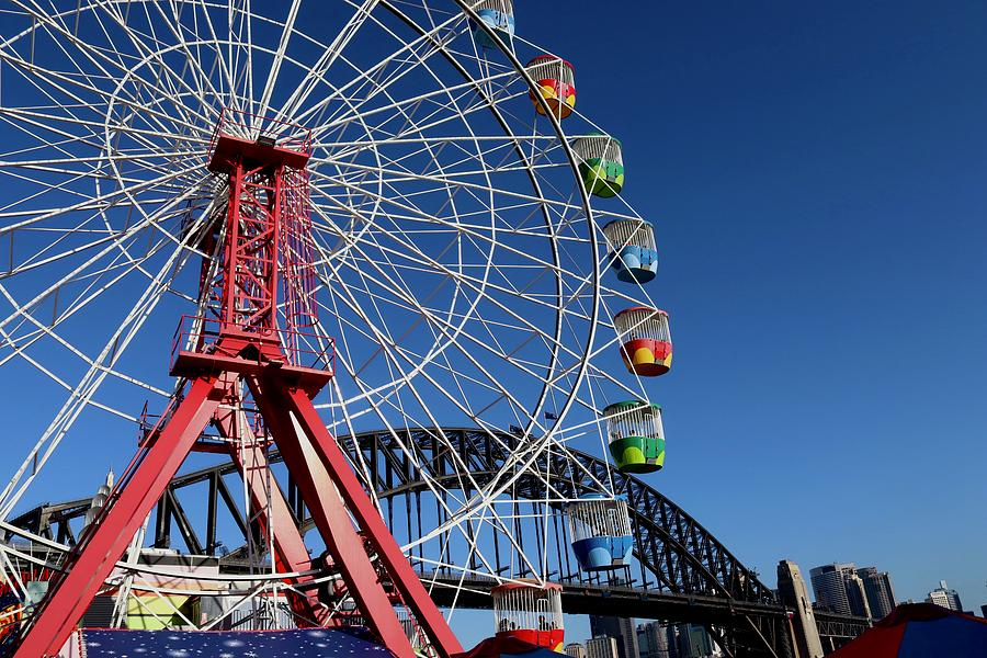Luna Park, Sydney Australia by Sarah Lilja