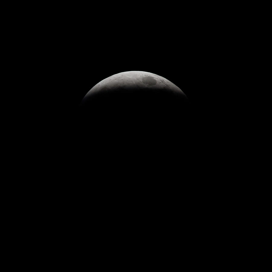 Lunar Eclipse 2019 - 3 by Jim Figgins