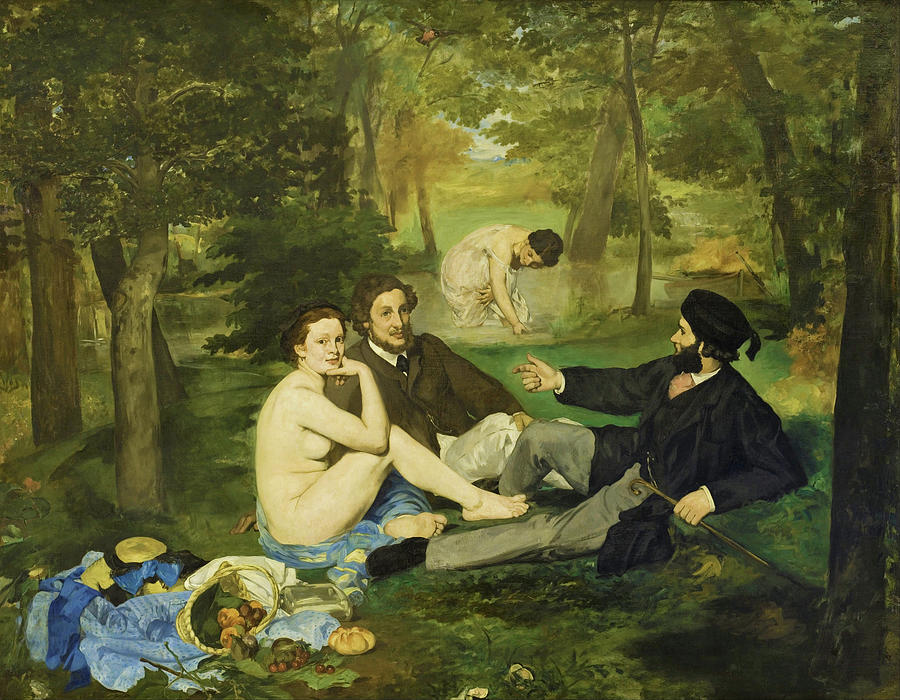 Edouard Manet Painting - Luncheon On The Grass - Digital Remastered Edition by Edouard Manet