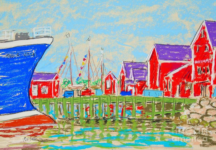 Lunenburg Waterfront  by Rae  Smith PAC