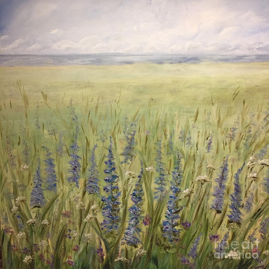 Lupins by Connie Pearce