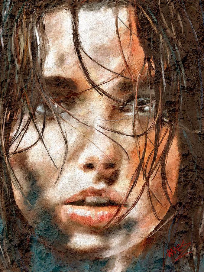 Luscious Lips 4 artwork by James Shepherd