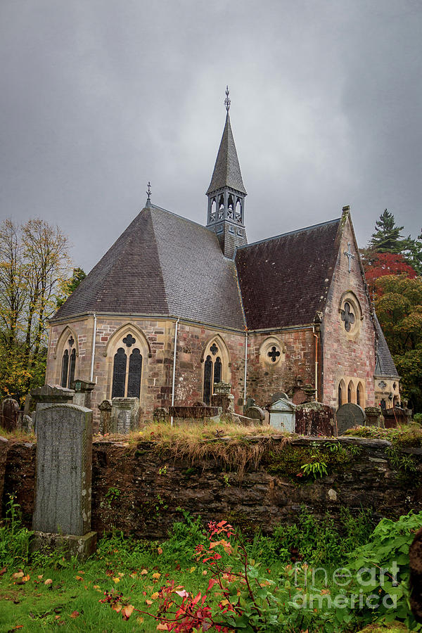 Luss Parish Church Photograph
