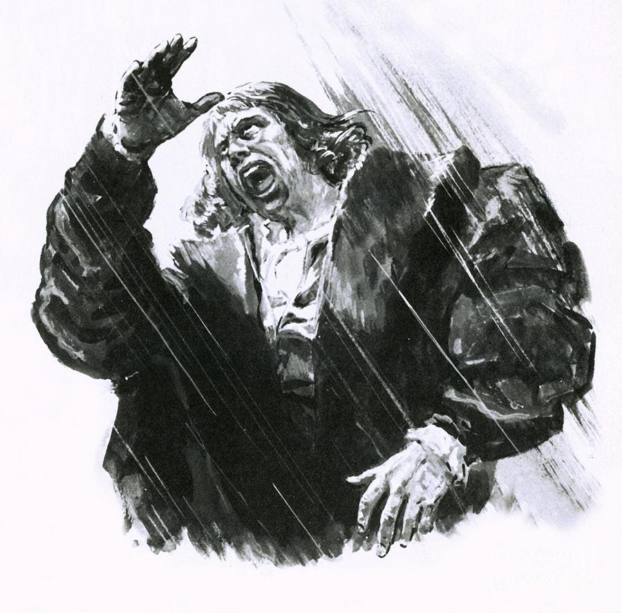 Luther Caught In A Thunderstorm by Cl Doughty