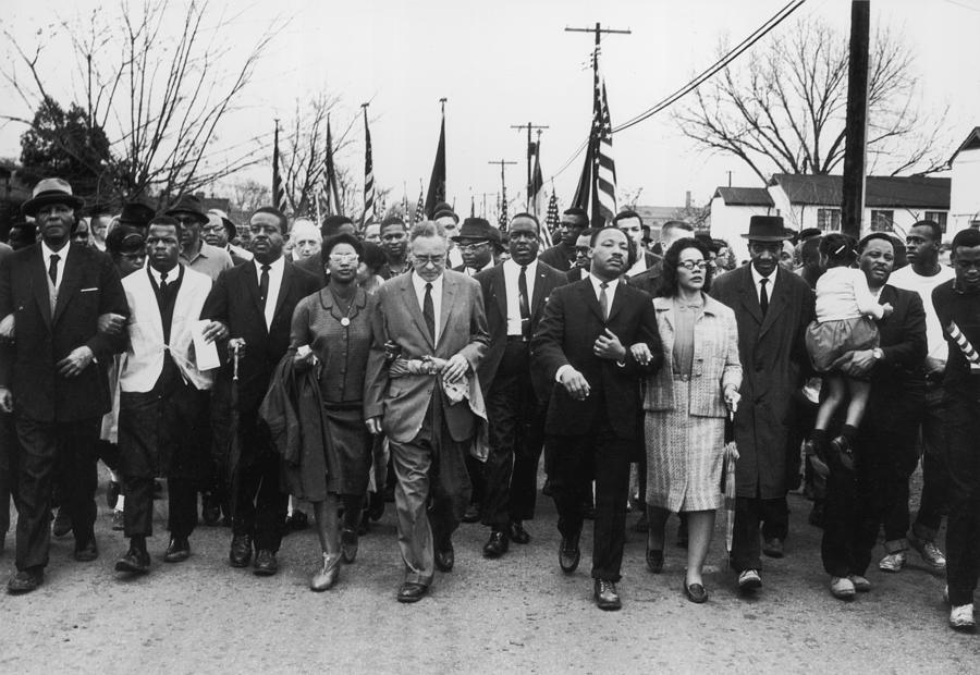 Luther King Marches Photograph by William Lovelace