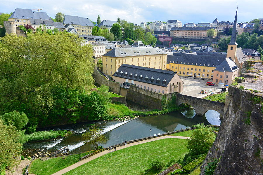 Luxembourg City Photograph - Luxembourg City by Two Small Potatoes