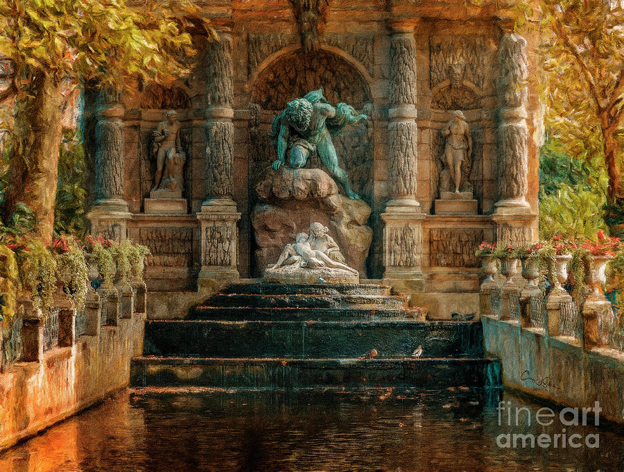 Luxembourg Gardens by Craig J Satterlee