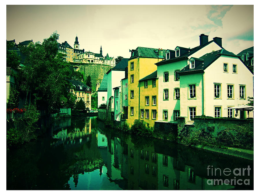 Luxemburg Photograph - Luxembourg Grund by Jurgen Huibers