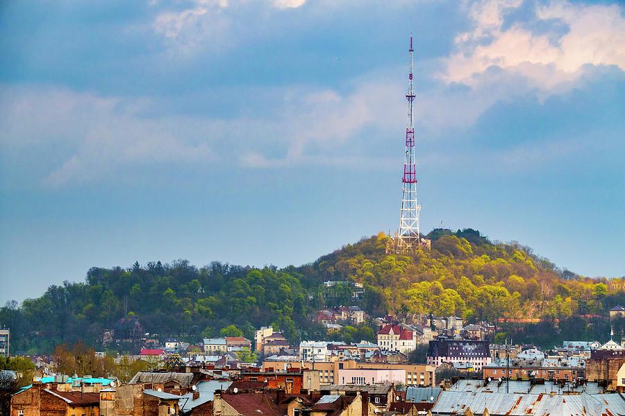 Lviv television tower by Fabrizio Troiani