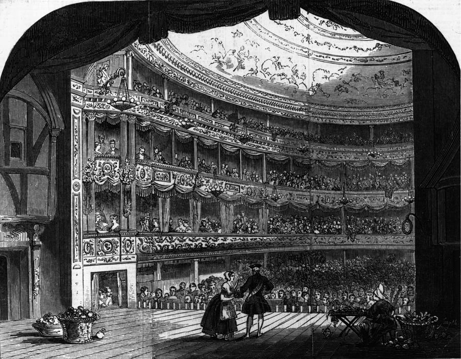 Lyceum Theatre Digital Art by Hulton Archive