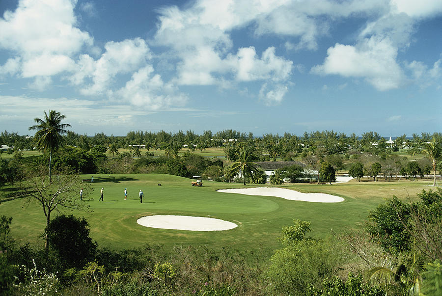Lyford Cay Golf Course Photograph by Slim Aarons