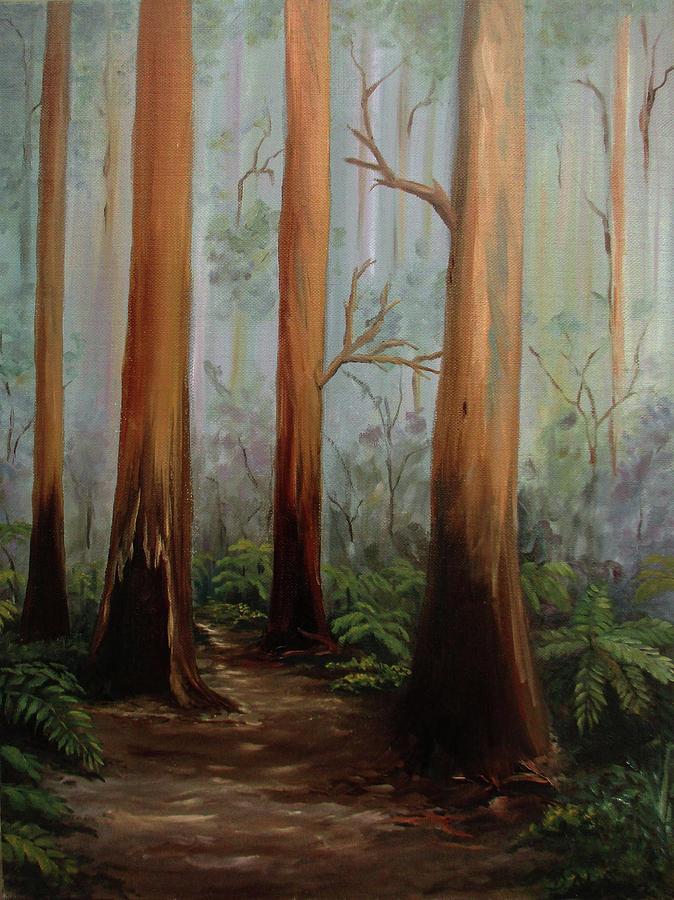lyrebird track by Debra Dickson