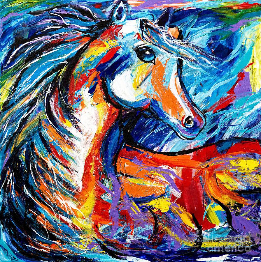 Magic Horse by Art by Danielle