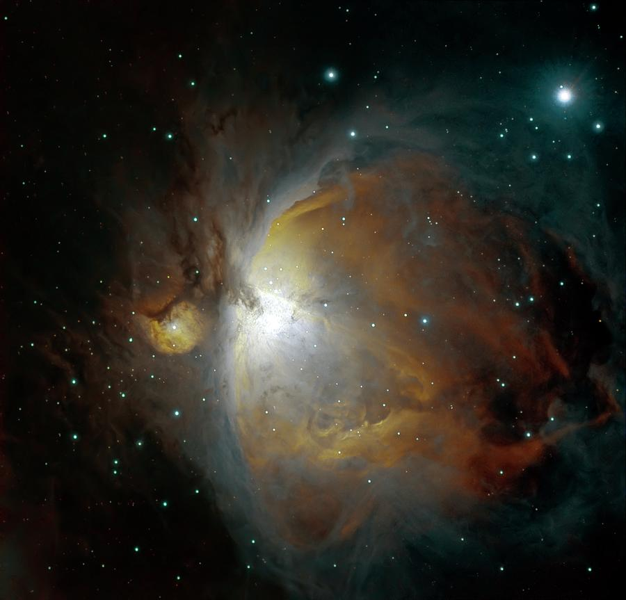 M42 Nebula In Orion Photograph by Stocktrek Images