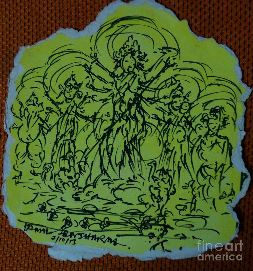 Ma Durga-2 by Tamal Sen Sharma