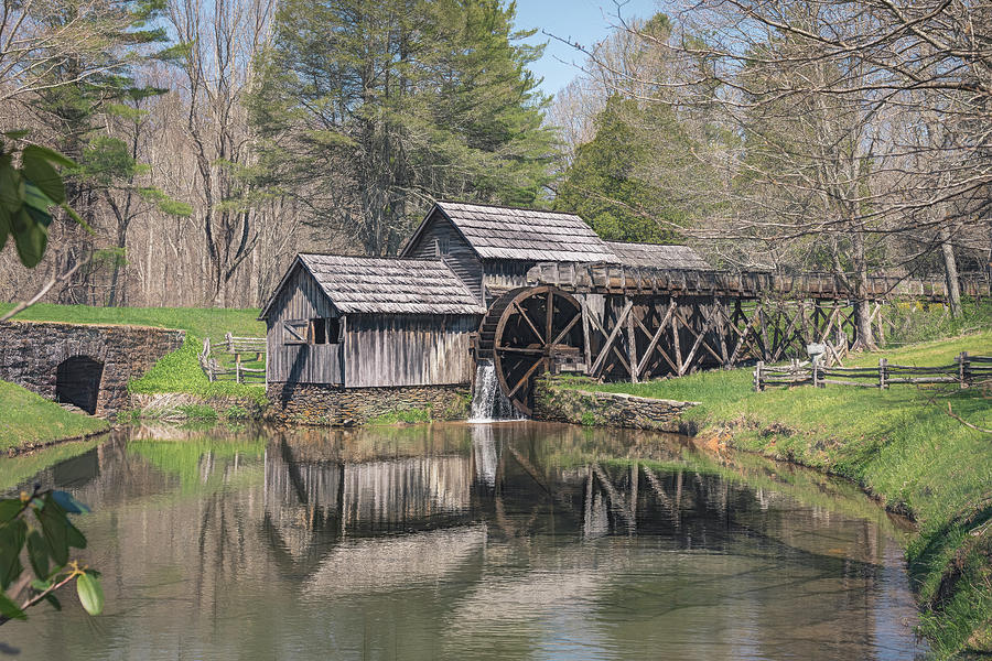 Mabry Mill  by Cindy Lark Hartman
