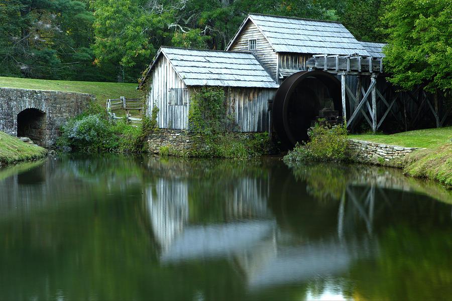 Mabry Mill by Eric Foltz