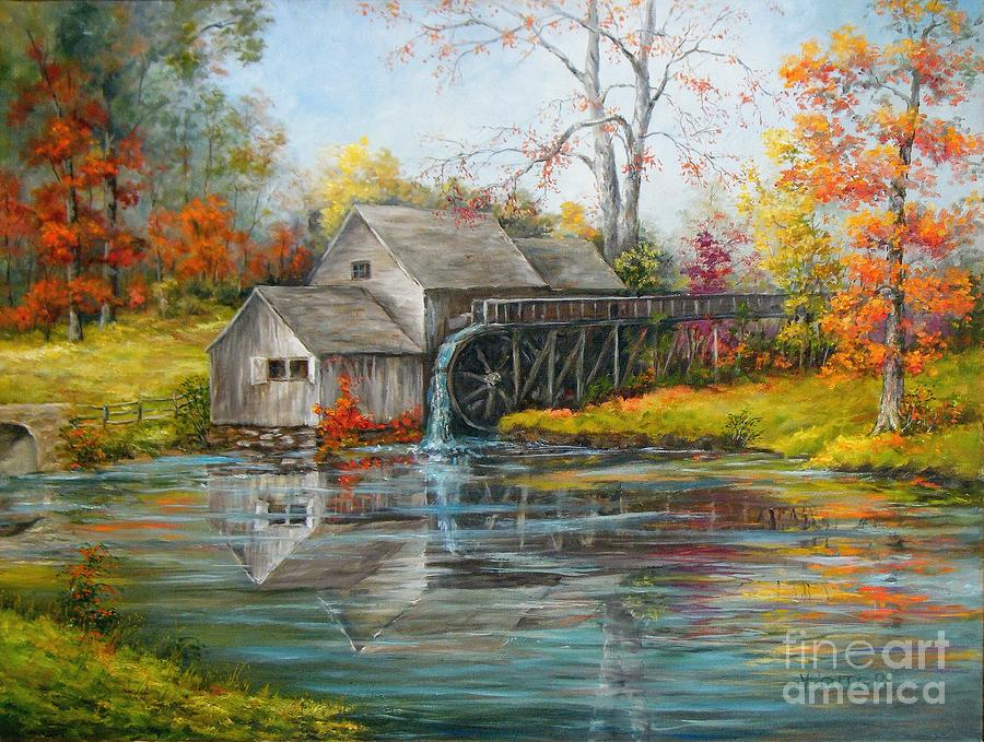 Mabry Mill by Virginia Potter