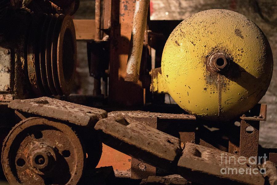 Equipment Photograph - Machinery by Nicki Hoffman