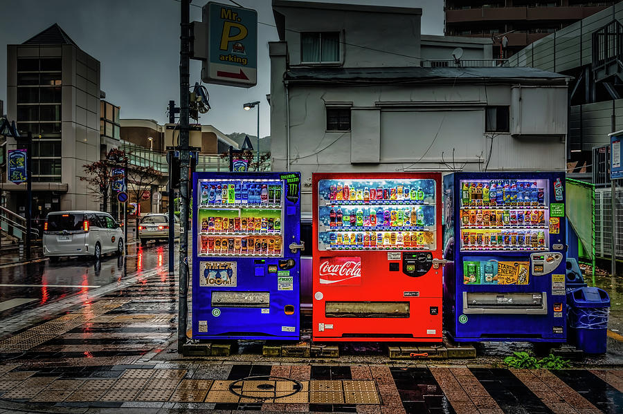Machines in the Rain by William Chizek