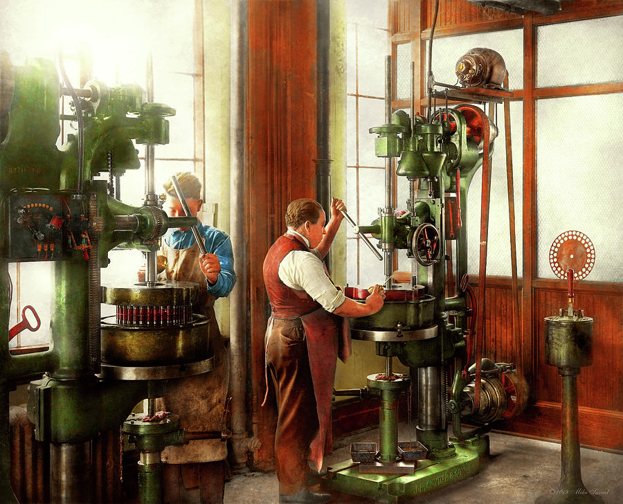 Machinist - When precision matters 1919 by Mike Savad