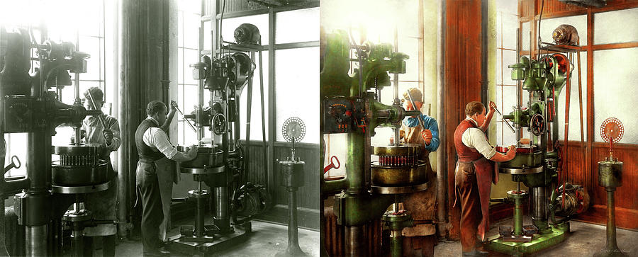 Machinist - When precision matters 1919 - Side by Side by Mike Savad