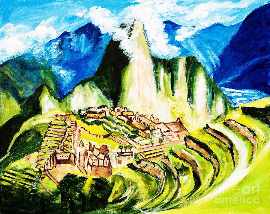 Machu Picchu by Art by Danielle