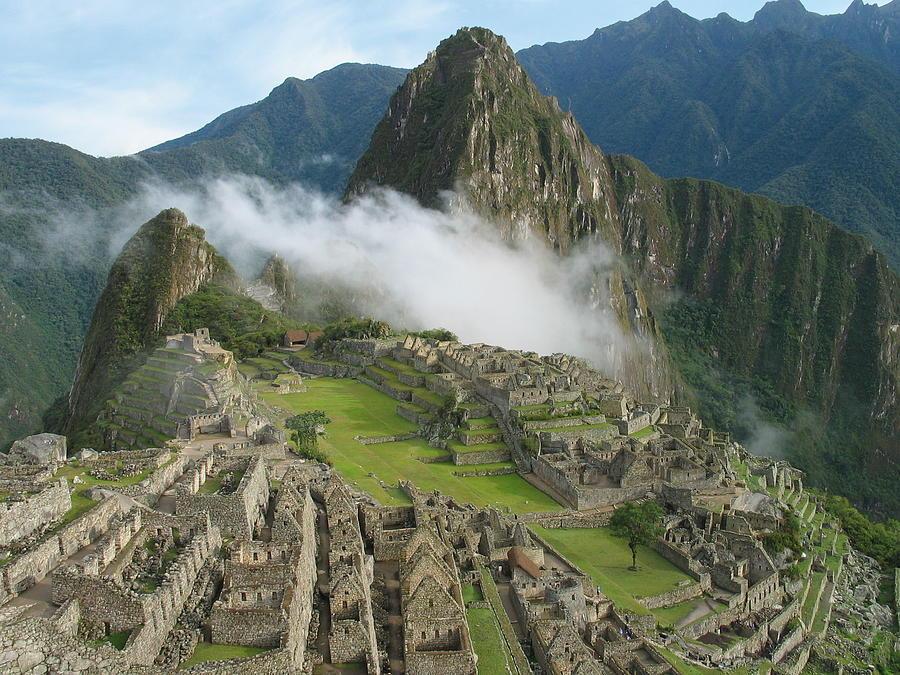 Machu Picchu Mist Photograph by Coopermoisse