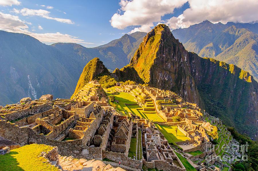 Civilization Photograph - Machu Picchu Peru, Southa America, A by Anton ivanov