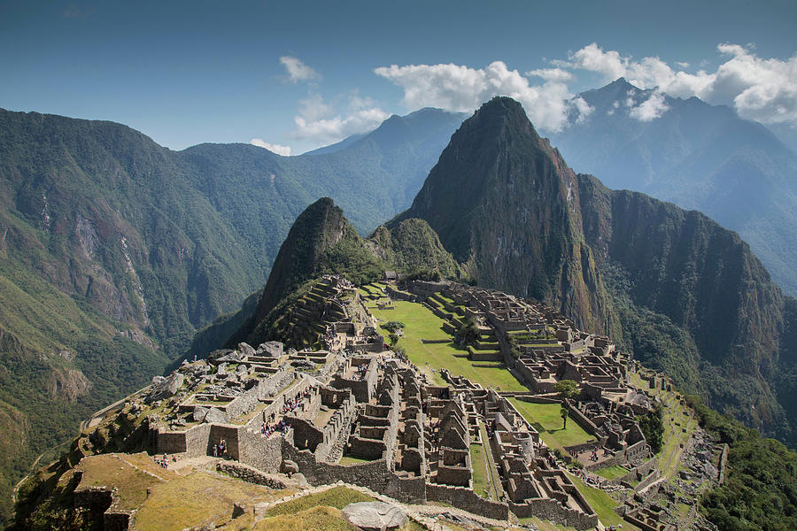 Machu Picchu, Peru, World Heritage Site Photograph by John & Lisa Merrill