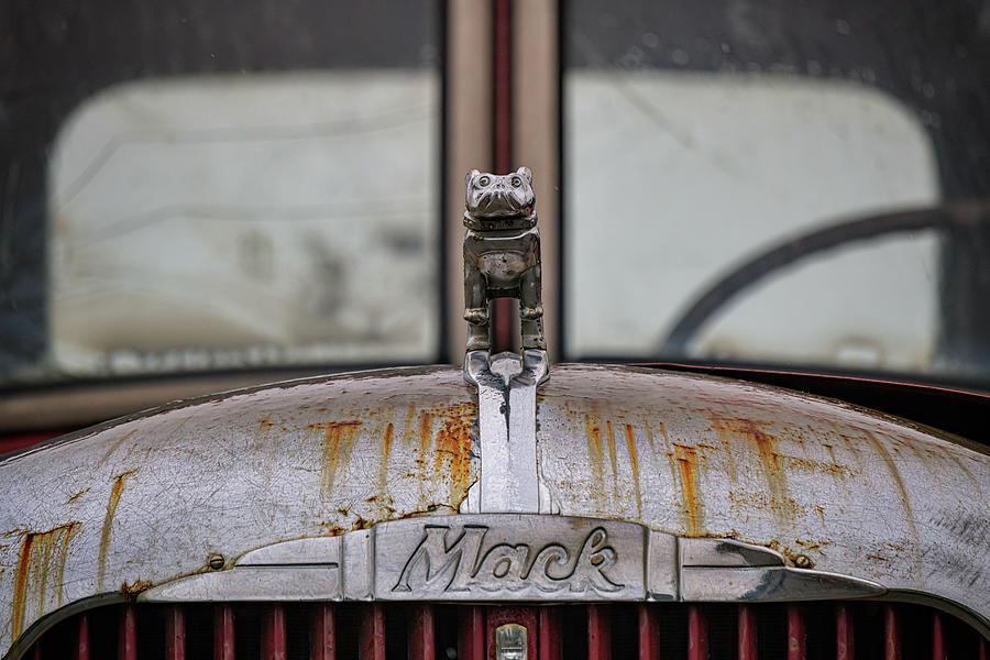 Mack Truck Bulldog by Rick Berk