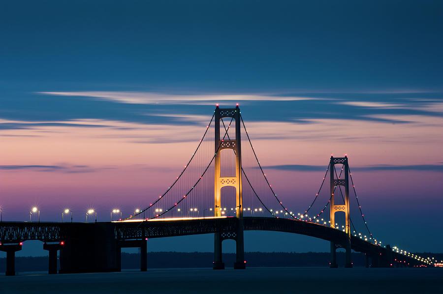 Mackinac Bridge Photograph by Doug4537