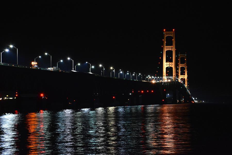 Mackinac Lights by Keith Stokes