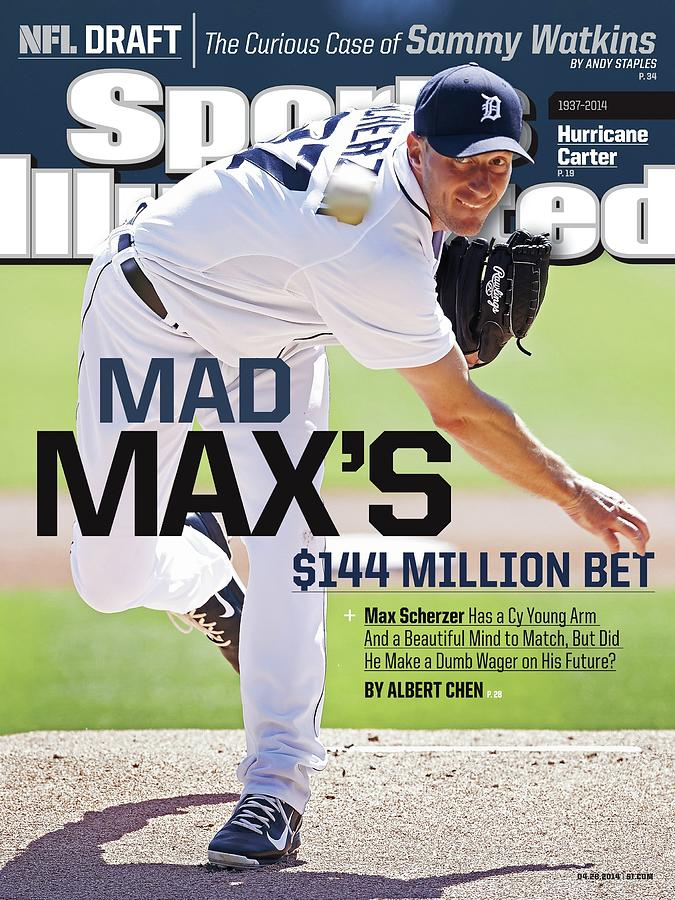 Mad Maxs $144 Million Bet Sports Illustrated Cover Photograph by Sports Illustrated