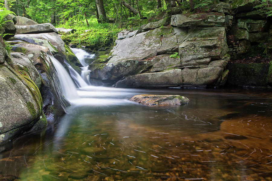Mad River Falls by Nathan Bush
