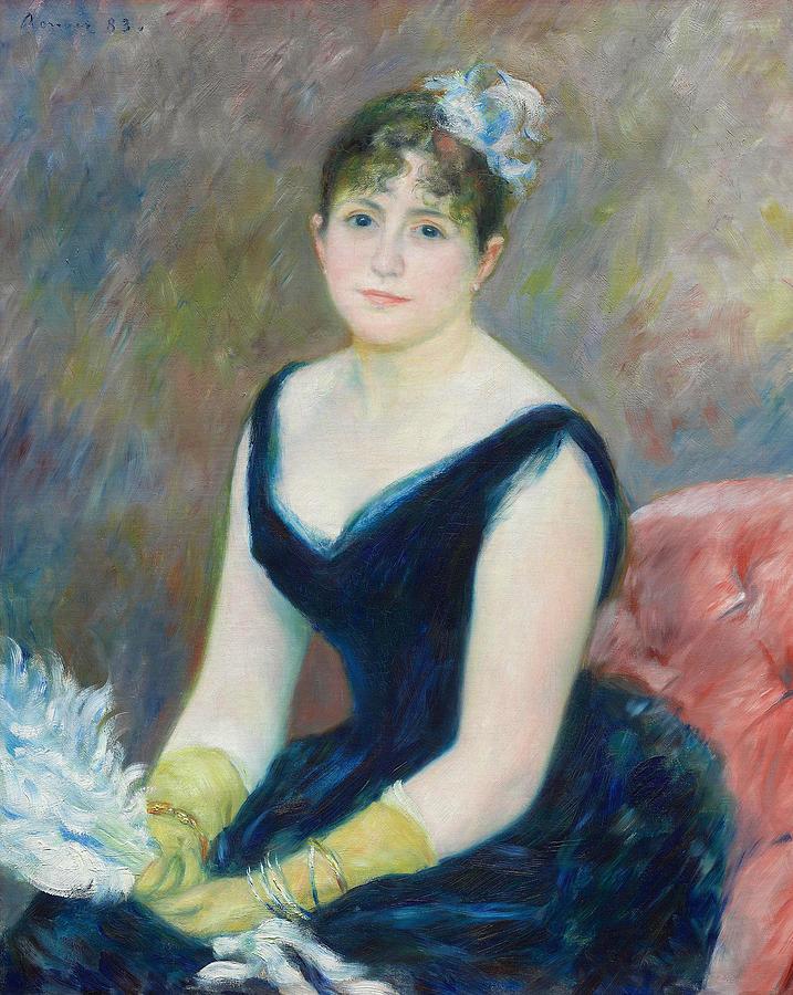 Madame Leon Clapisson by Auguste Renoir