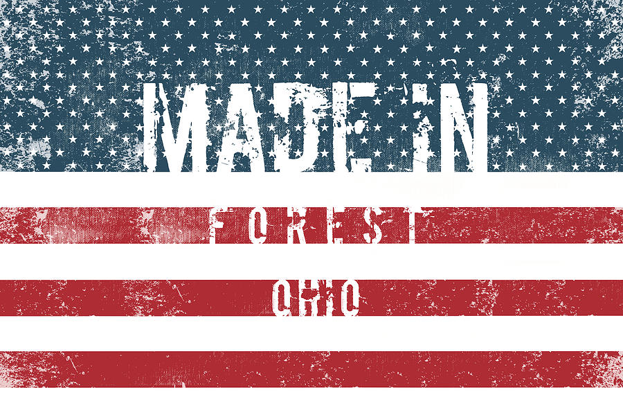Made In Forest, Ohio #forest #ohio Digital Art