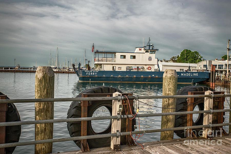 Madeline Island Car Ferry Photograph