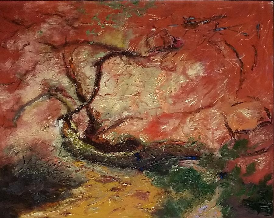 Tree Painting - Madrona Tree by Irena Jablonski