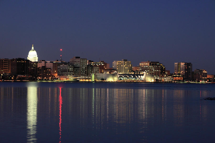 Madison at Dusk by Todd Klassy