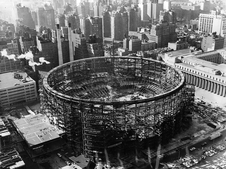 Madison Square Garden Photograph by Fox Photos