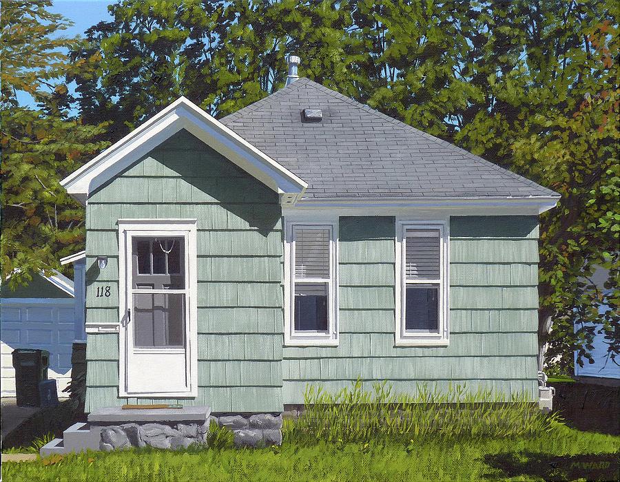 Madison St. House Painting