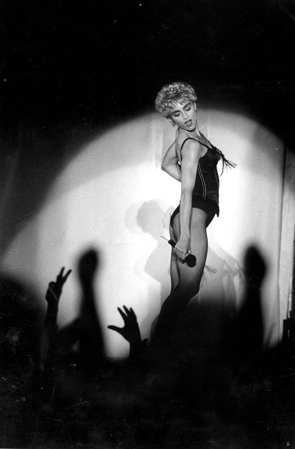 Madonna Concert Performing At Veterans Photograph by New York Daily News Archive