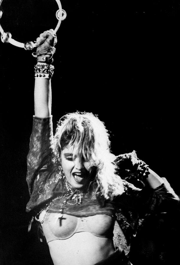 Madonna Concert Performs At Madison Photograph by New York Daily News Archive