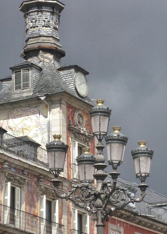 Madrid Photograph - Madrid Thunder by JAMART Photography