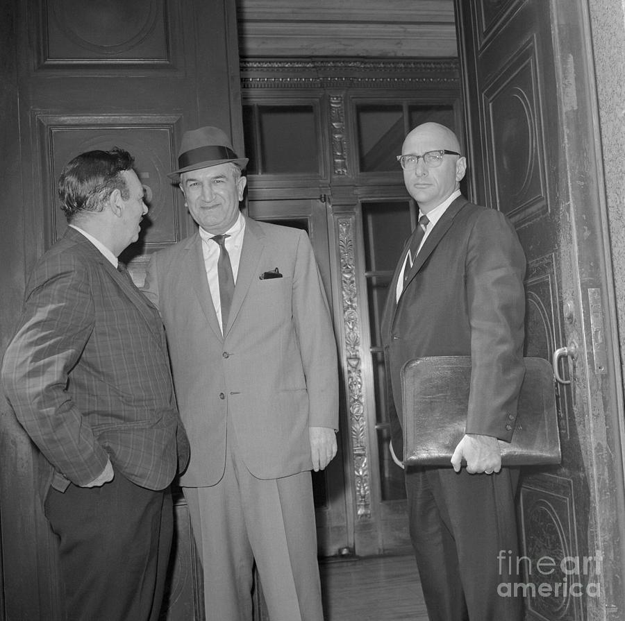 Mafia Witness Going To Court Photograph by Bettmann