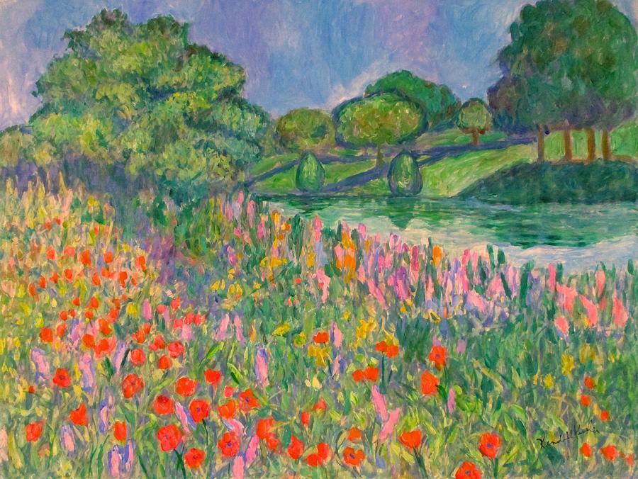 Magenta Field by Kendall Kessler