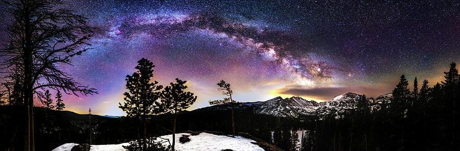 Magic Above Rocky Mountain National Park by Gary Kochel
