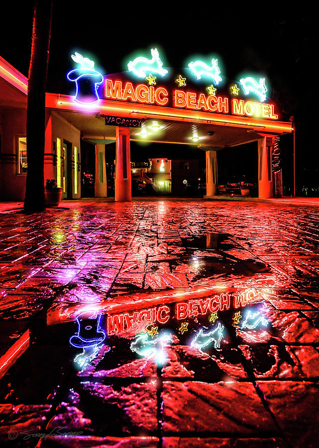 Magic Beach Motel by Stacey Sather