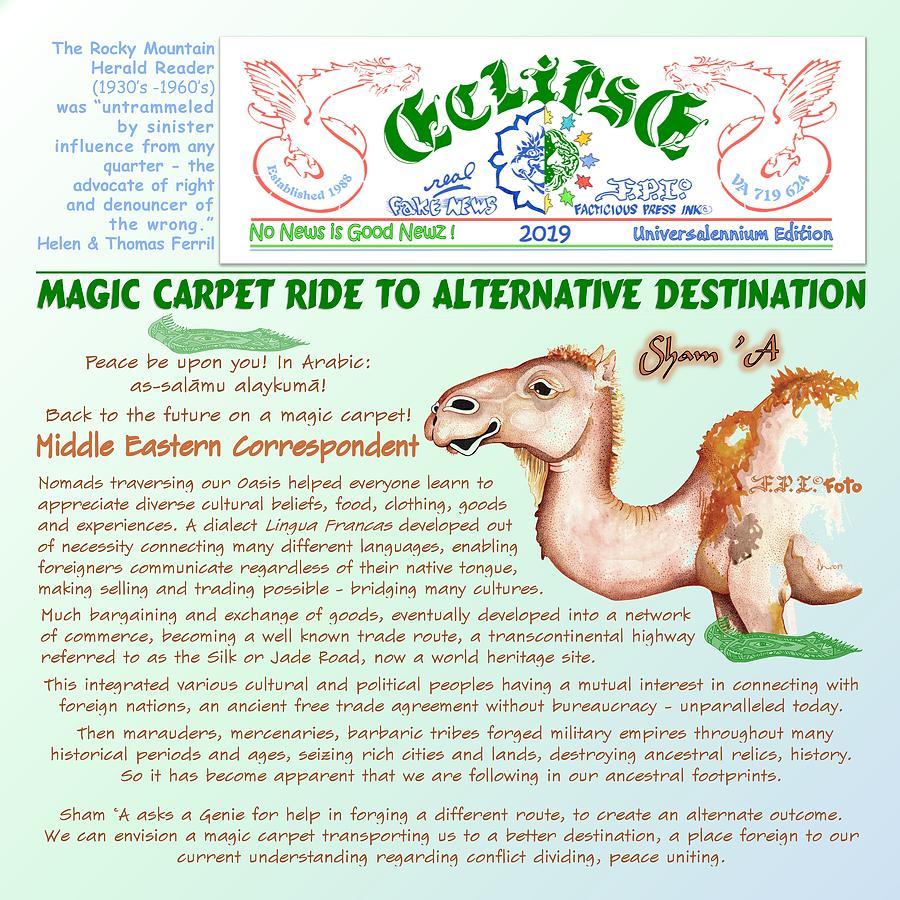 Magic Carpet Ride by Dawn Sperry